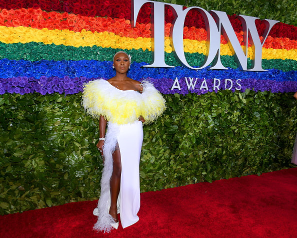 NEW YORK, NEW YORK - JUNE 09: Cynthia Erivo attends the 73rd Annual Tony Awards at Radio City Music Hall on June 09, 2019 in New York City. (Photo by Nicholas Hunt/Getty Images)