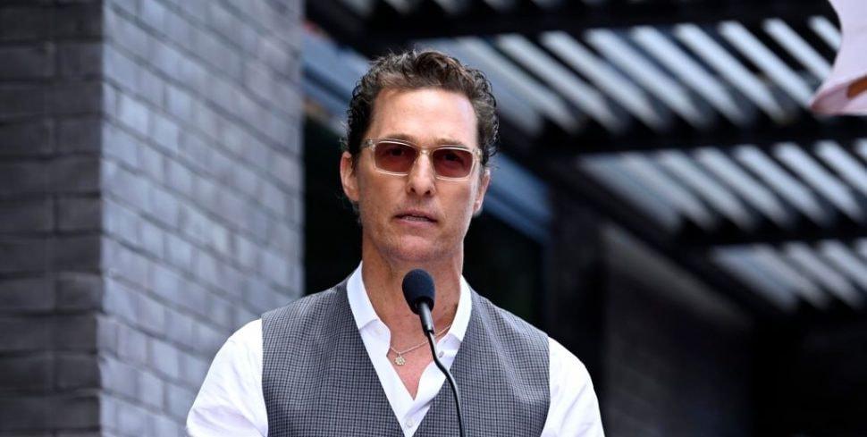 Matthew McConaughey Is...